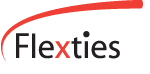 logo flexties online marketing bureau communicatie met garanties !